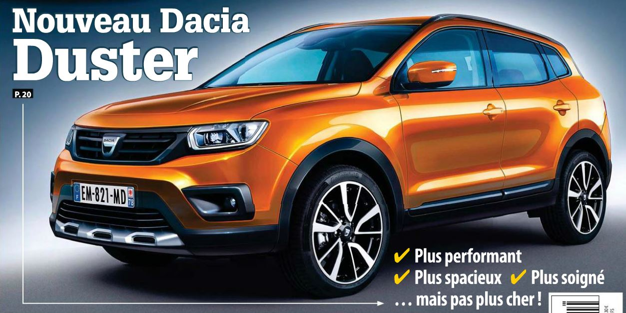 le dacia duster 2 sera francfort en septembre petit 4x4. Black Bedroom Furniture Sets. Home Design Ideas
