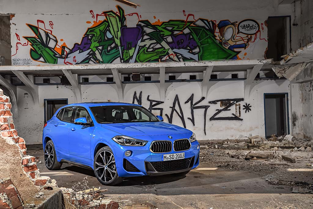 bmw x2 infos photos prix disponibilit s petit 4x4. Black Bedroom Furniture Sets. Home Design Ideas
